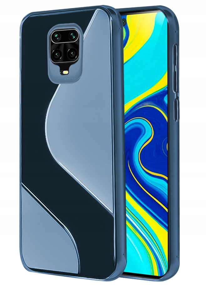 Etui do Xiaomi Redmi Note 9Pro 9S S-Case + Szkło