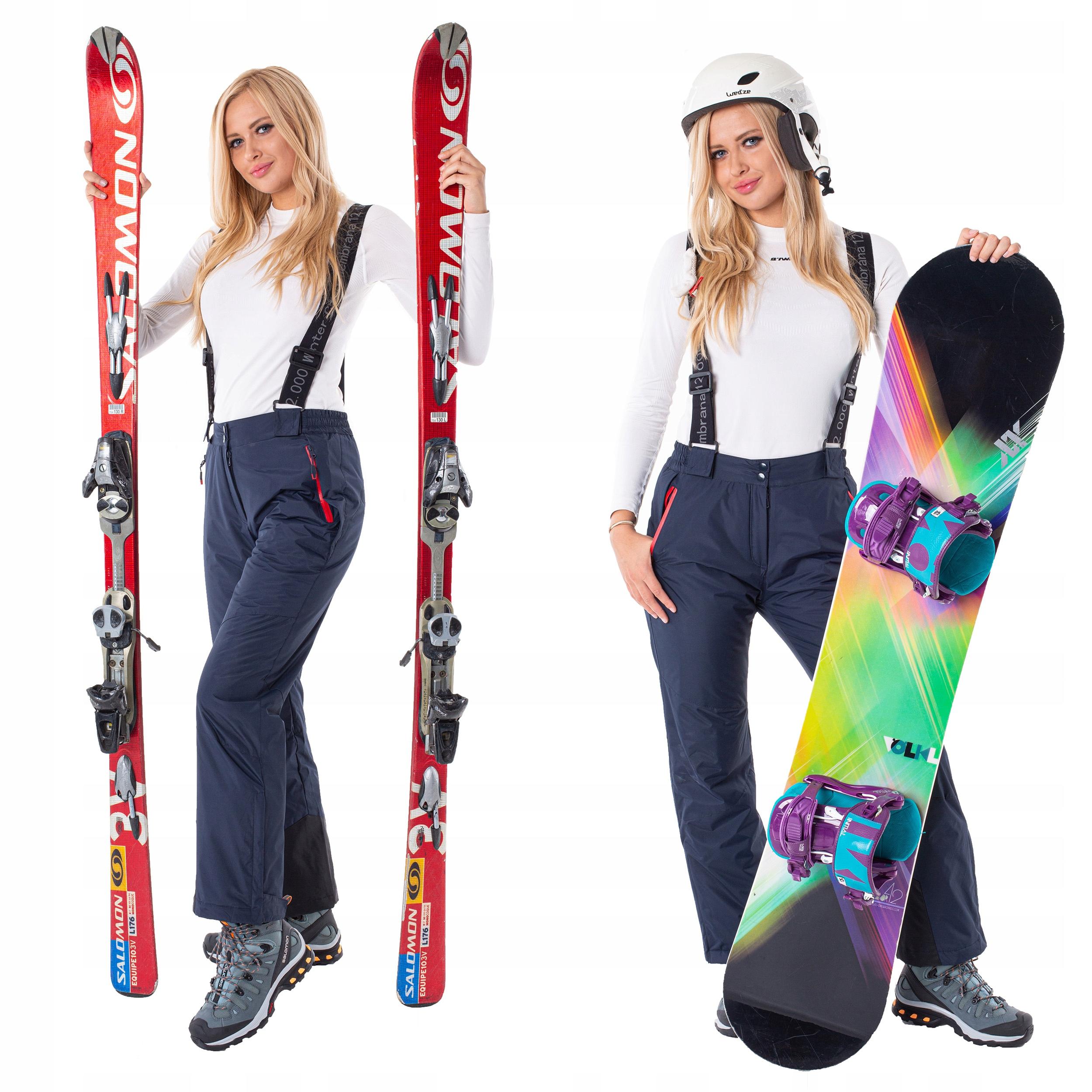 Женские лыжные брюки МЕМБРАНА 12.000 M