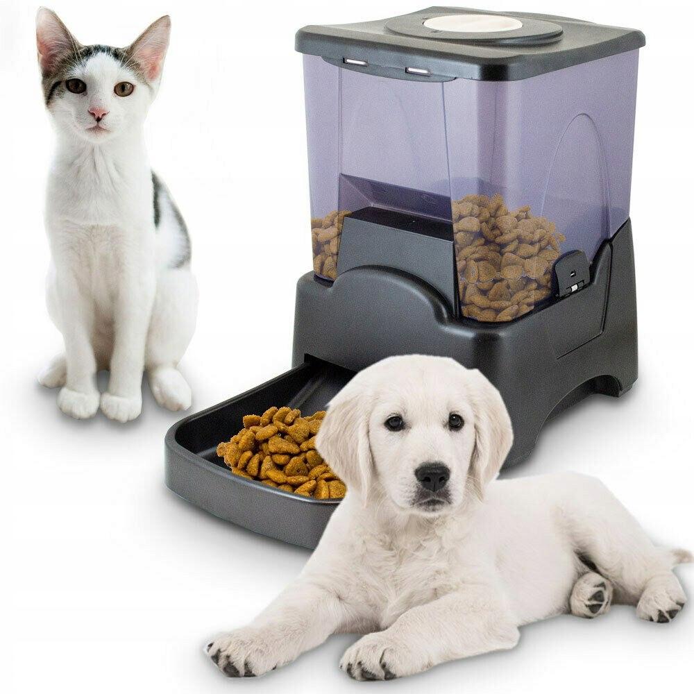 Automatické kontajner na kŕmenie zvierat, pes