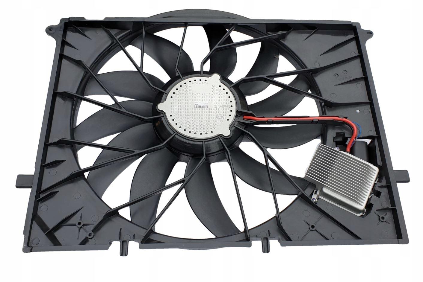 mercedes w220 вентилятор кондиционирования воздуха компл + модуль