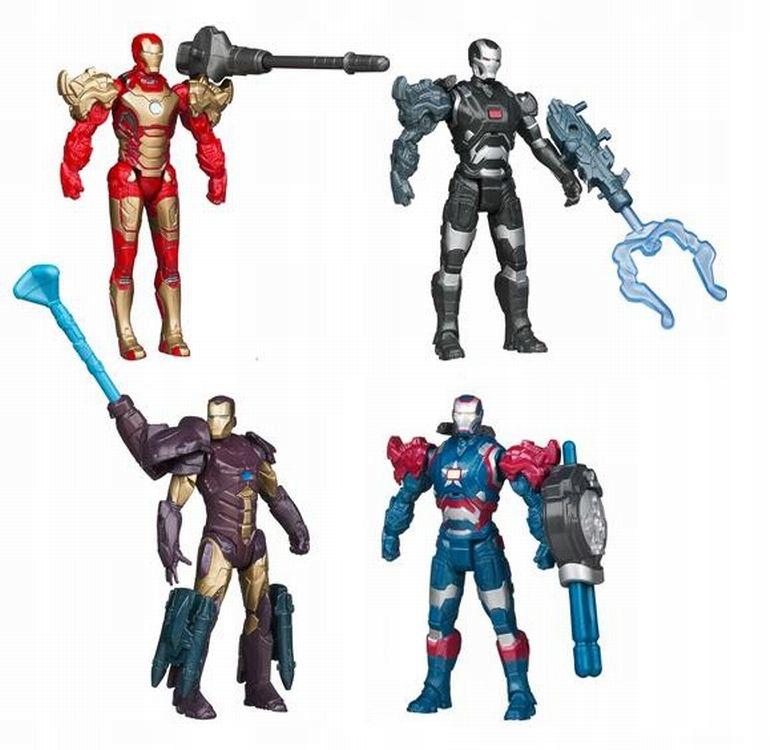 HASBRO IRON MAN 3 IRON PATRIOT FIGURKA ASSEMBLERS Bohater Avengers