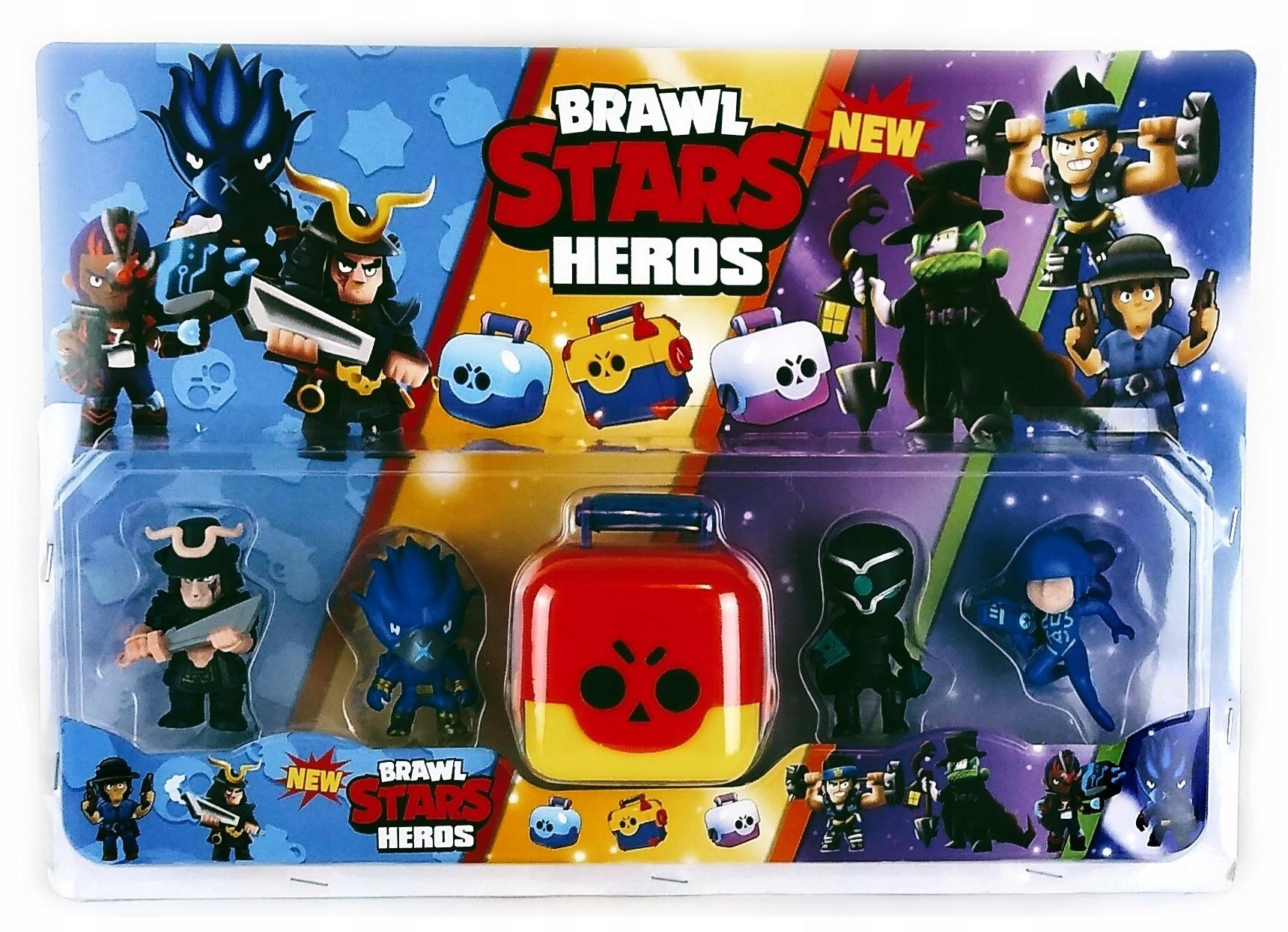 5x Mega figúrky kufor Raven Spike Brawl Stars