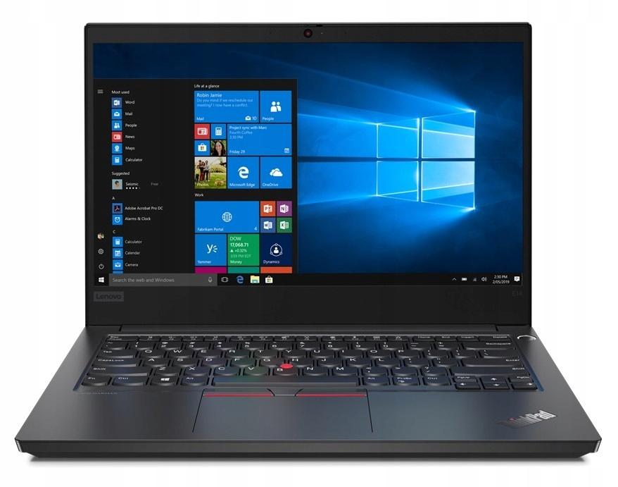 """Laptop Lenovo 20T6000UPB 14"""" 8GB/256GB czarny"""