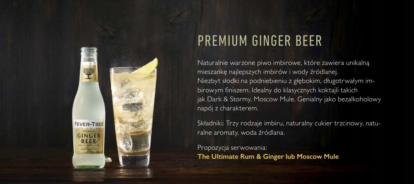 FEVER TREE TONIC Ginger Beer 200 ml x 4 szt. EAN 5060108450010