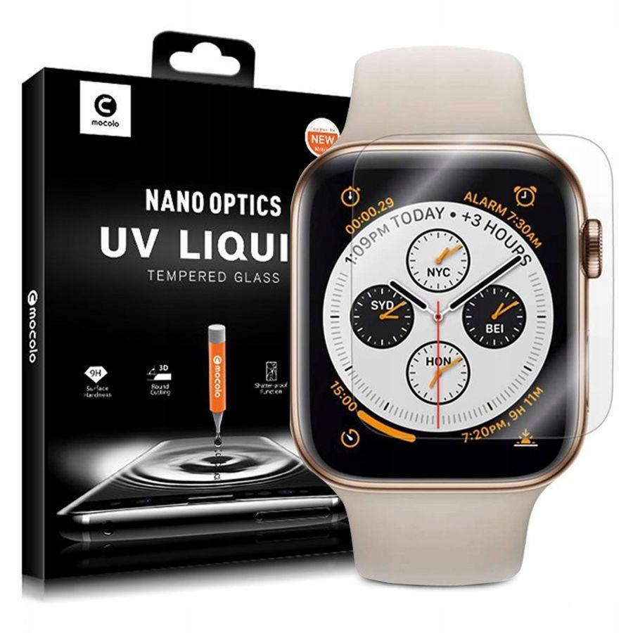 Купить ЗАКАЛЕННОЕ СТЕКЛО MOCOLO УФ Цветов!!! ДЛЯ Apple Watch 4-стоп 40-й на Eurozakup - цены и фото - доставка из Польши и стран Европы в Украину.
