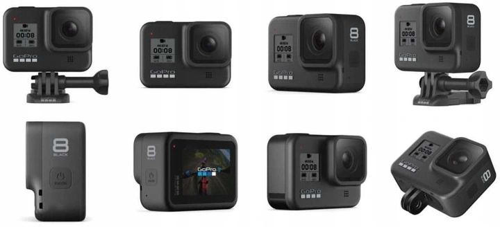 Kamera sportowa GoPro Hero 8 CHDHX-801RW Black Model Hero 8 Black