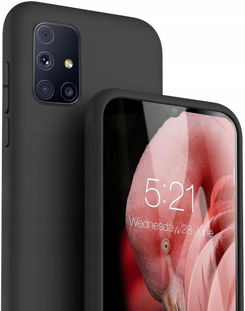Etui do Samsung Galaxy M31S Case Silikon + Szkło