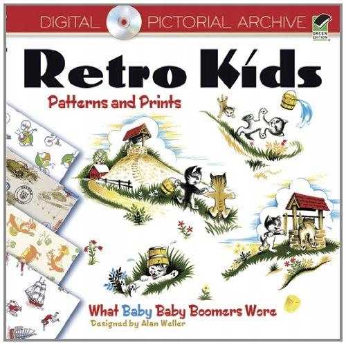 Retro detské vzory a potlače: Čo dieťa
