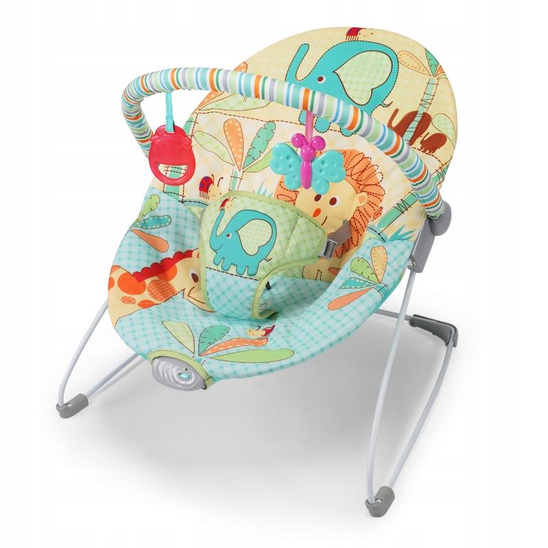 Зеленое кресло-качалка для детей, 50 x 42 x 59 см