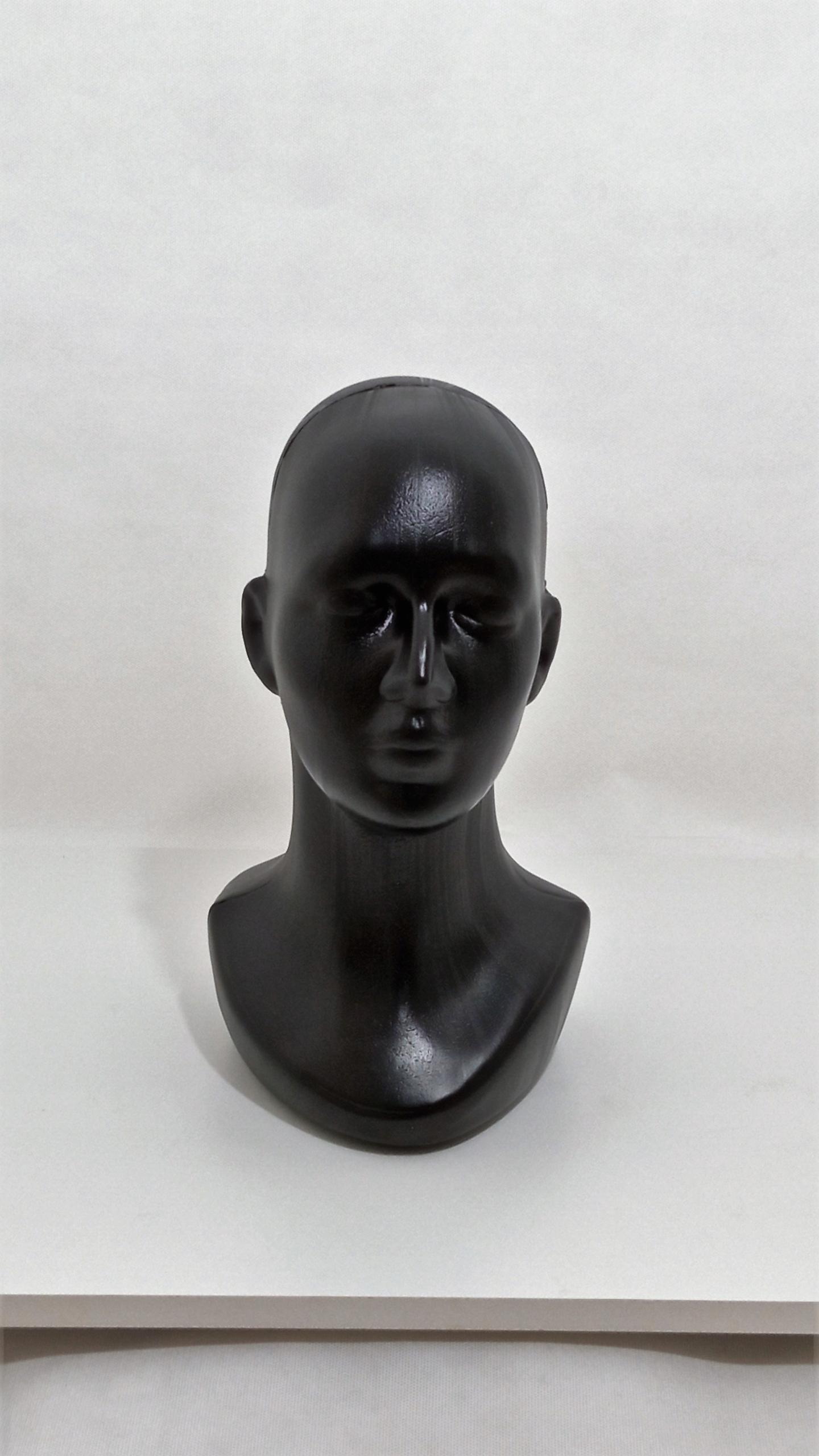 Купить Manekin głowa plastikowa czarna damska wysoka на Otpravka - цены и фото - доставка из Польши и стран Европы в Украину.