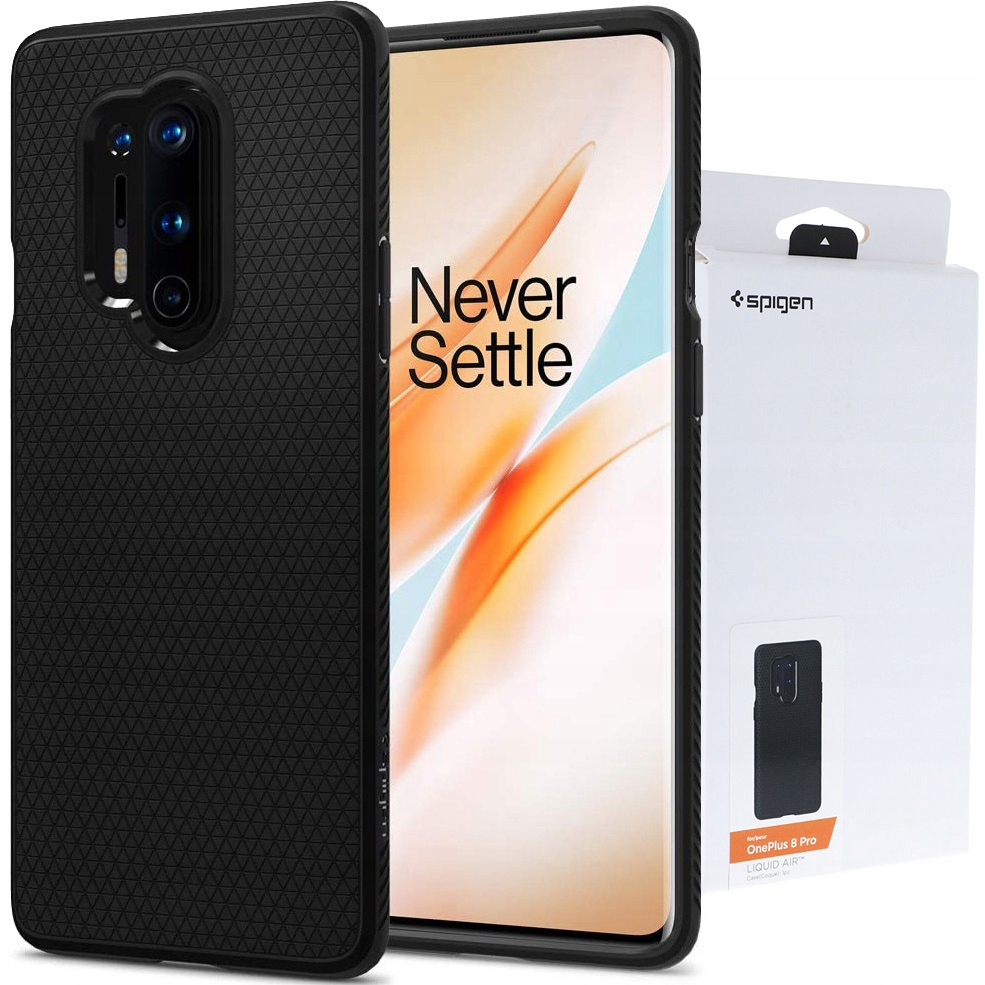 Etui do OnePlus 8 Pro, Spigen Liquid Air, obudowa