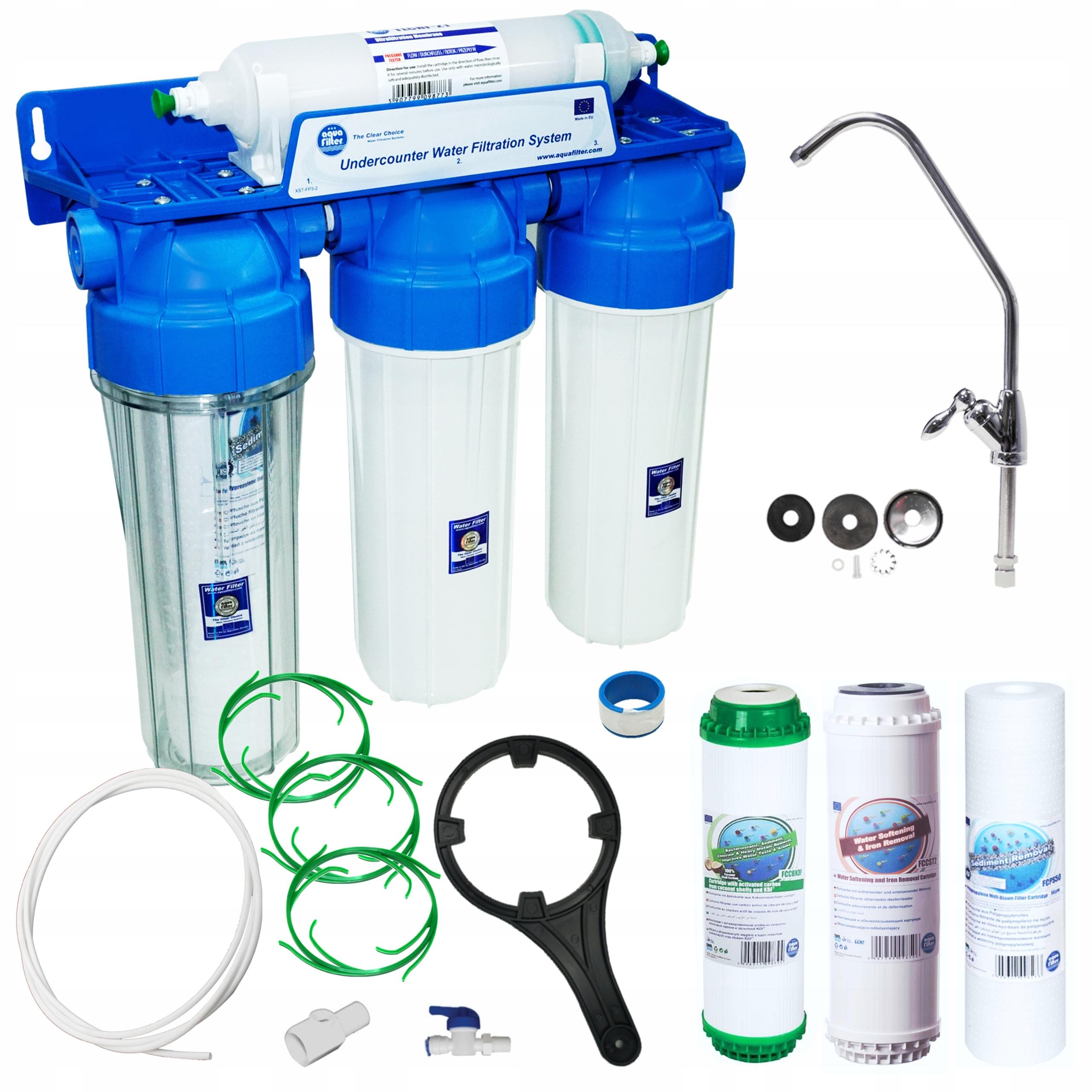 FP3-HJ-K1 Aquafilter Filter pre vodu pod KDF umývadlom