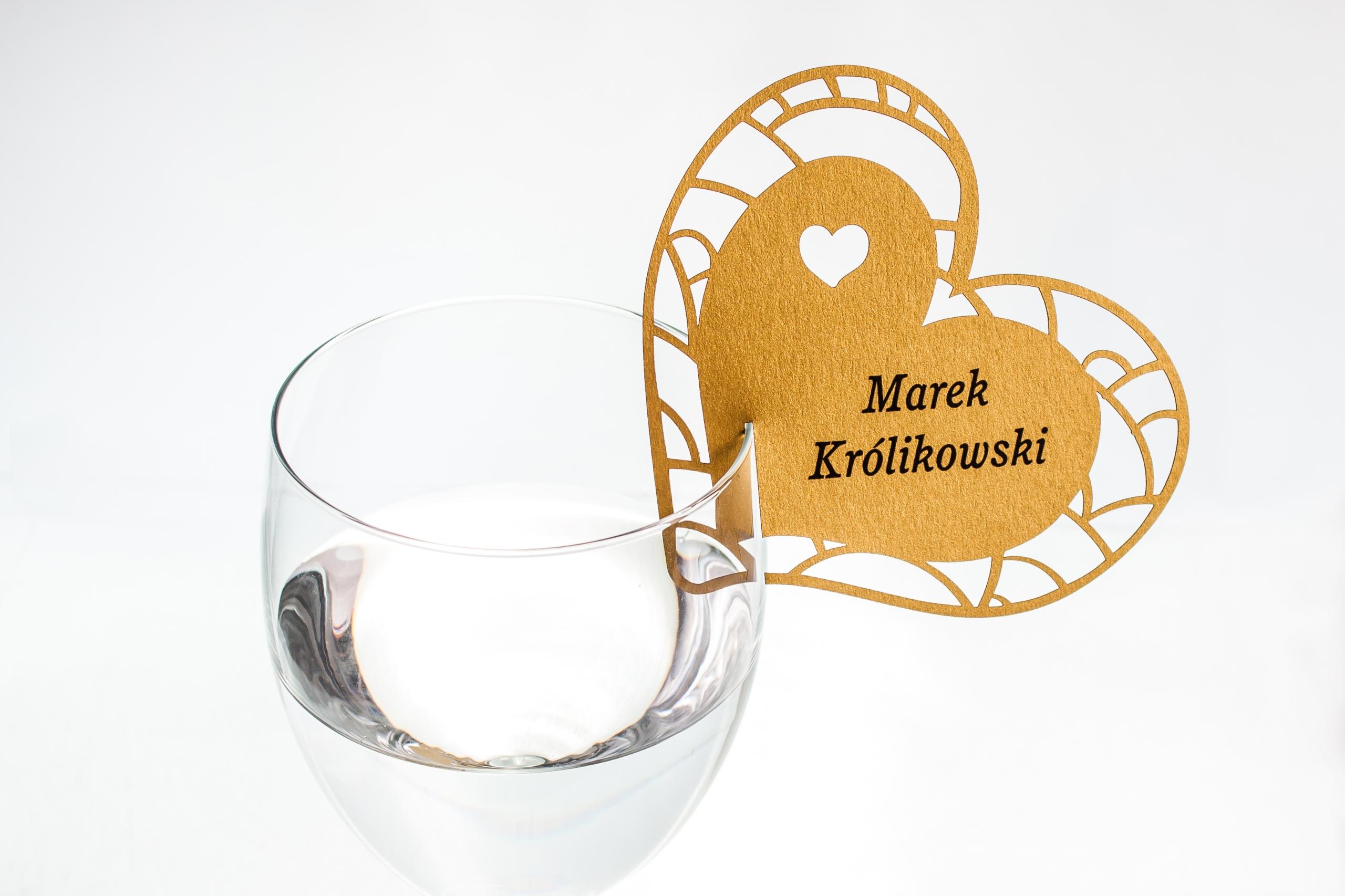 СЕРДЦЕ Виньетки-визитки на стакан OVERPRINT!
