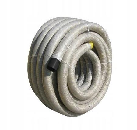 Труба для дренажного фильтра из ПВХ fi 100 с крышкой