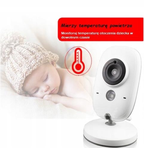 VB603 BABY Monitor Niania elektroniczna opiekun Płeć Chłopcy Dziewczynki