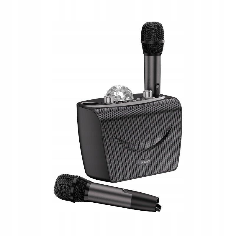 Zestaw do karaoke 2x Mikrofon Głośnik Oświetlenie Liczba mikrofonów w zestawie 2