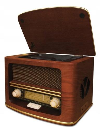 CAMRY Retro prenosné Rádio s CD prehrávačom