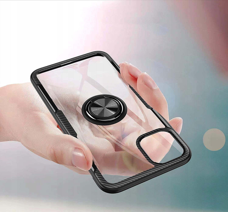 Etui Ring + Szkło do iPhone 11 Pro / X / XS Typ plecki