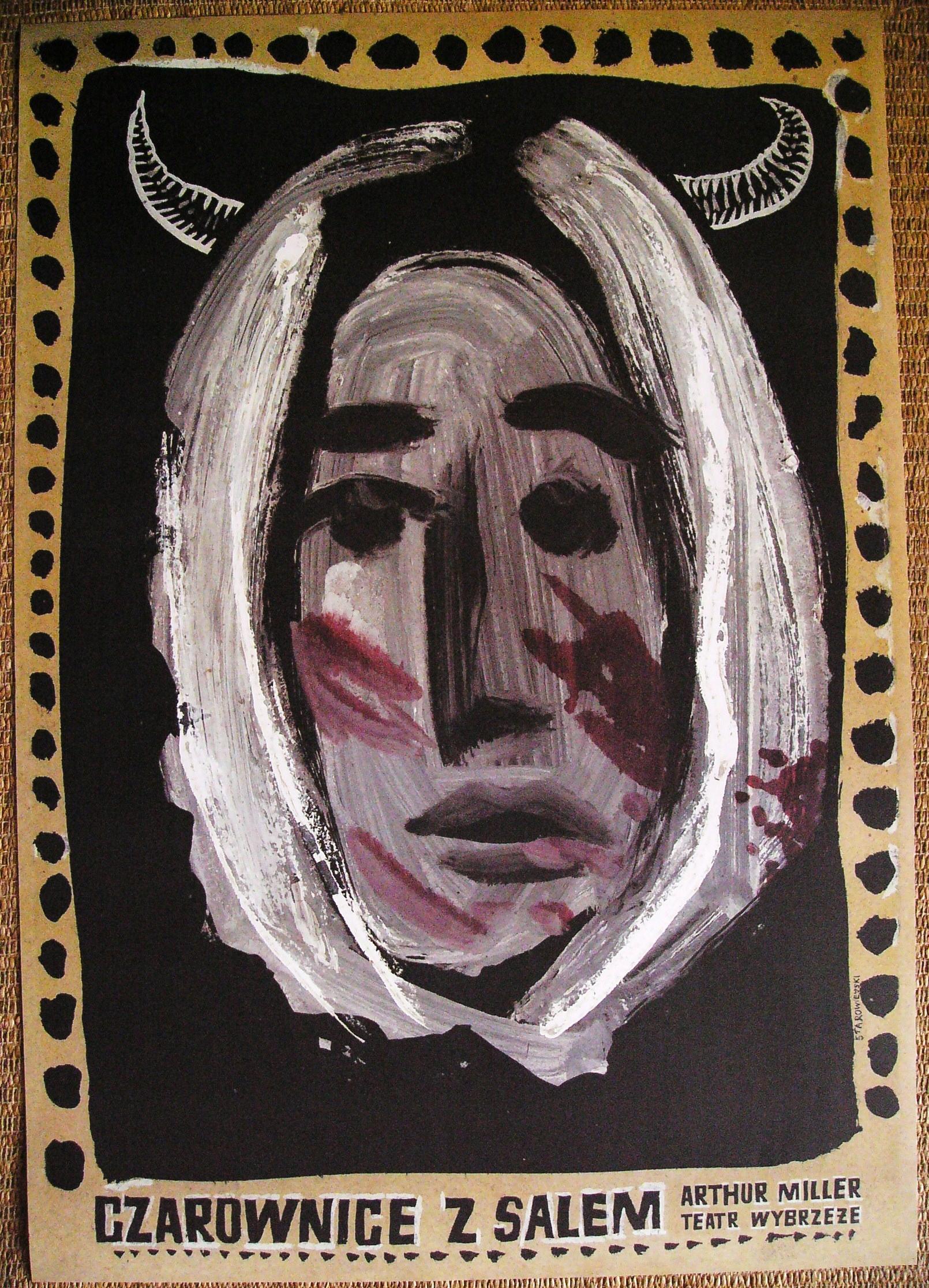 Franciszek Starowieyski Czarownice z Salem plakat