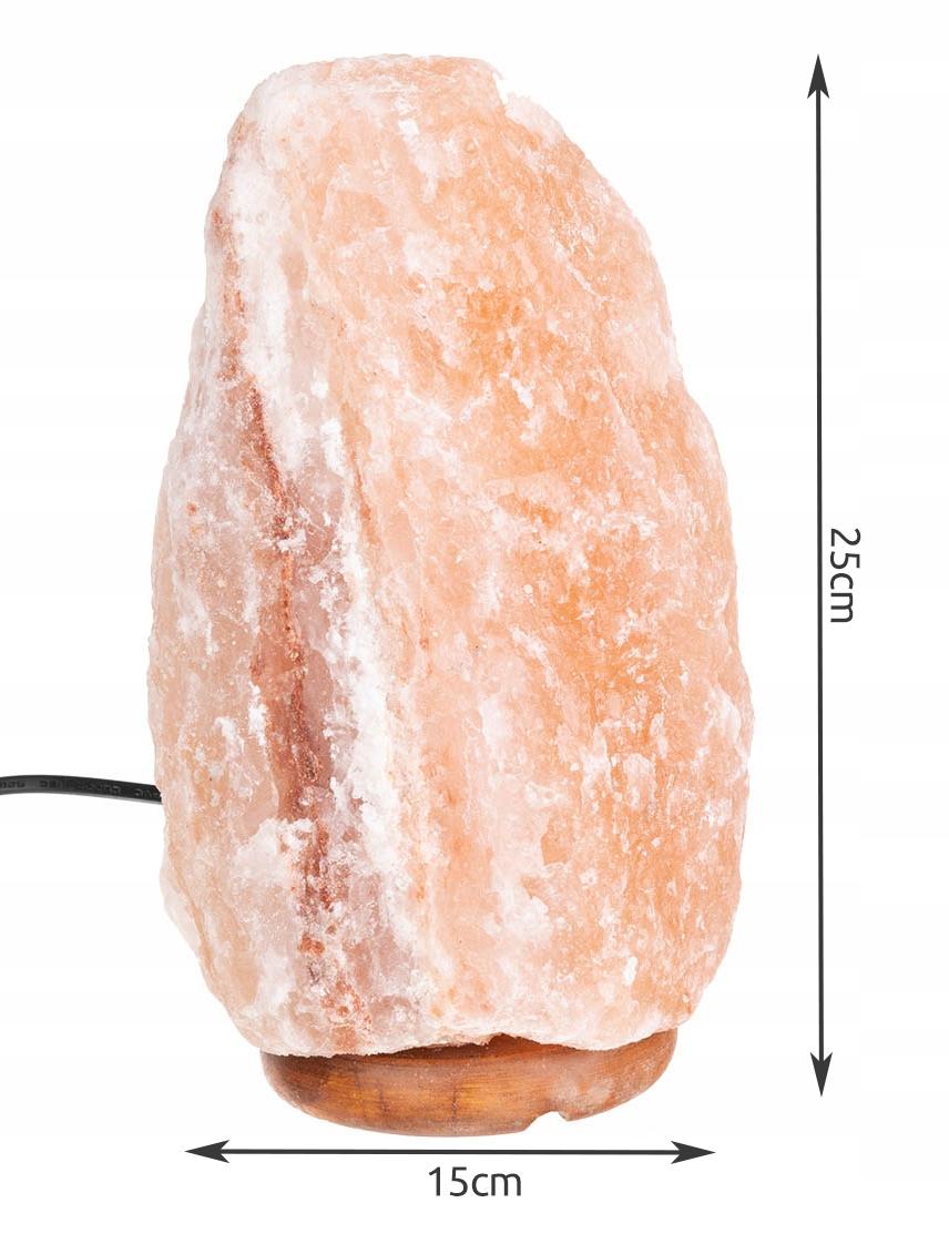 Lampa Solna 3-5kg Jonizator Sól Himalajska Nocna Marka Iso Trade