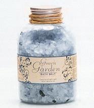 Sůl do koupele ve sklenici Modré laguny