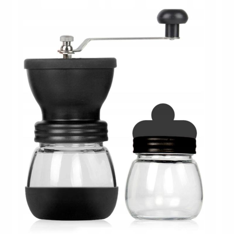 Retro ručný mlynček na kávu