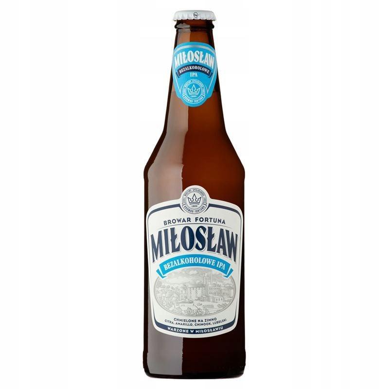 Miłosław Пиво без алкоголя. IPA 500 мл FORTUNA BREWERY