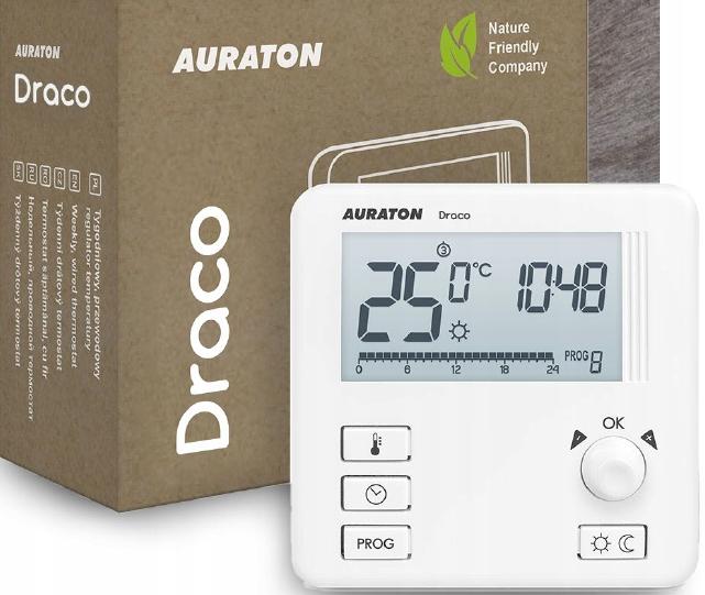 Auraton Draco przewodowy regulator (SALUS 091 FL)