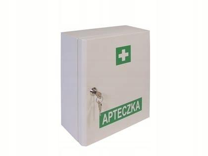 Prvá pomoc prvej pomoci kovová skrinka 13164+