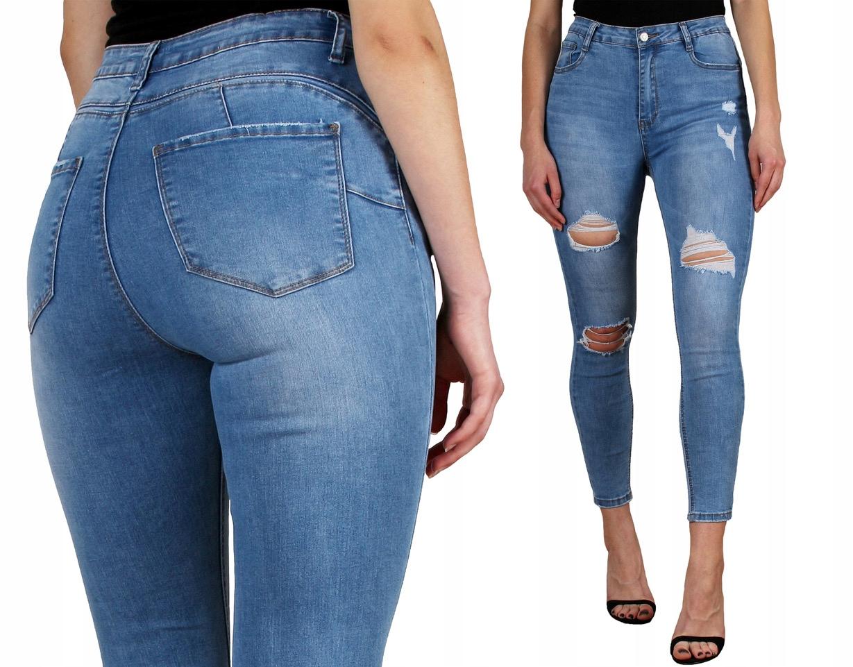1698 Denim Life Damskie spodnie Jeansy 42/XL