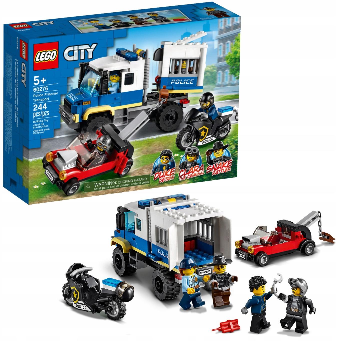 LEGO City - Policyjny Konwój Więzienny (60276)