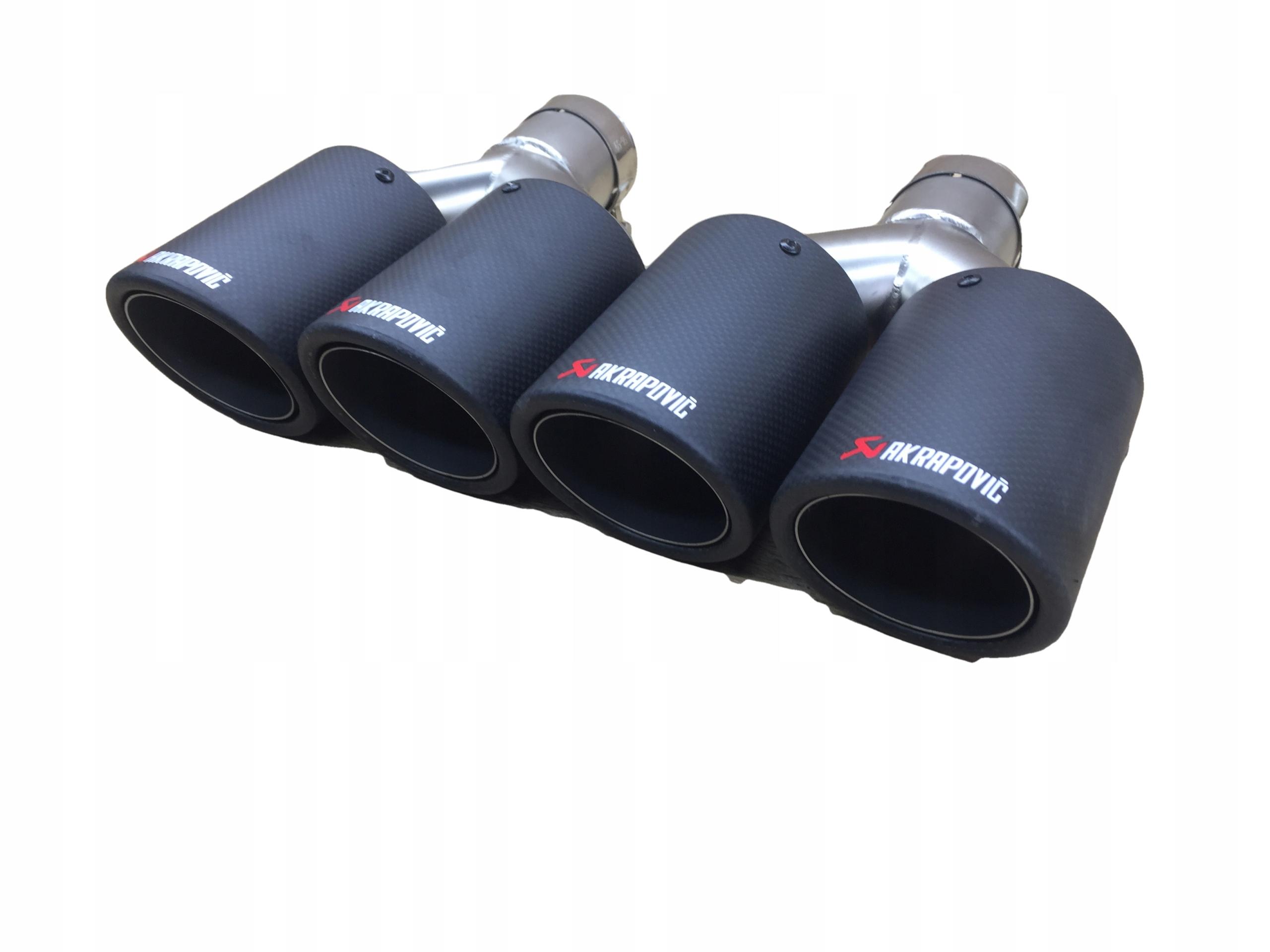 наконечники глушителя выдохе akrapovic 59180mm