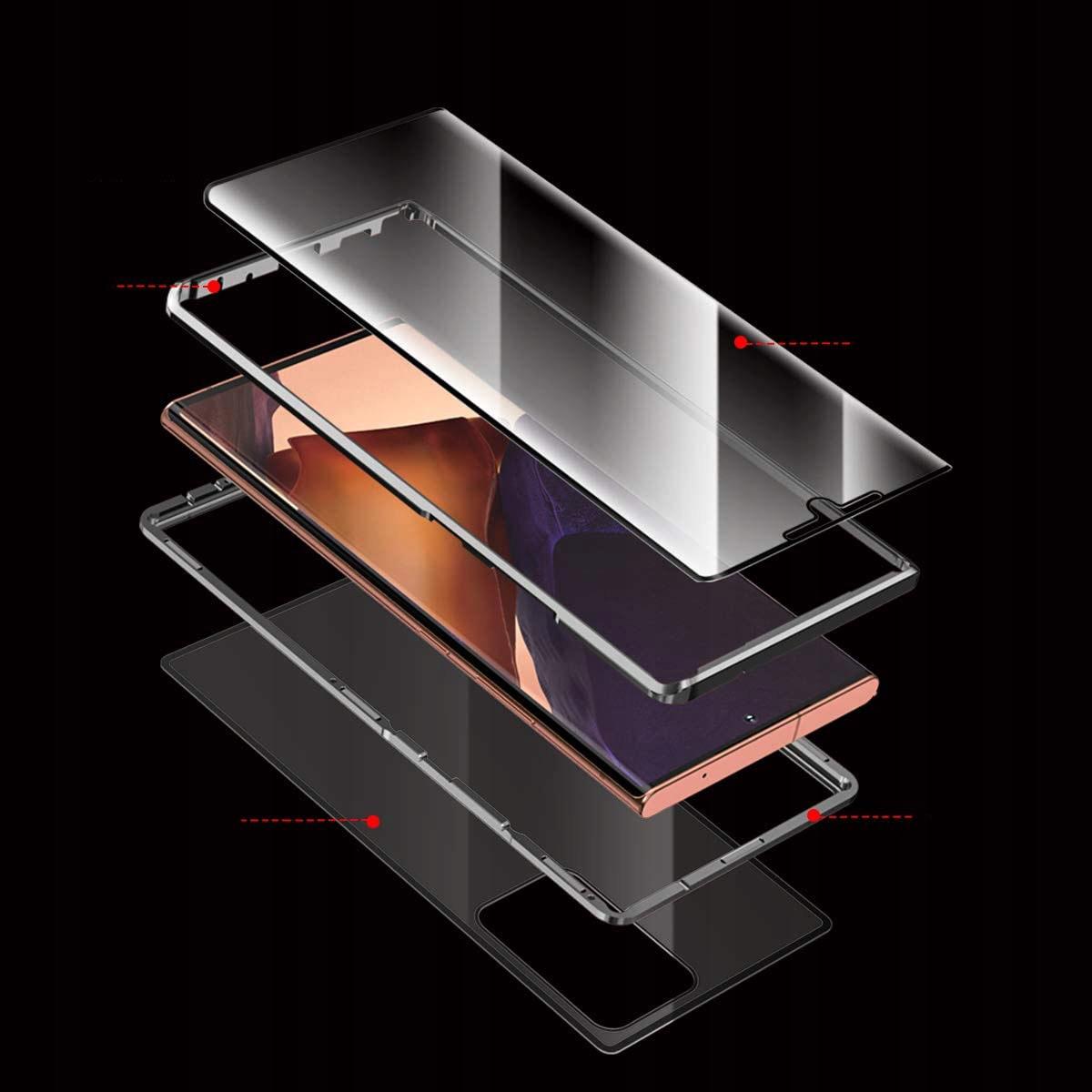 Etui magnetyczne do Samsung Galaxy Note 20 Kolor czarny