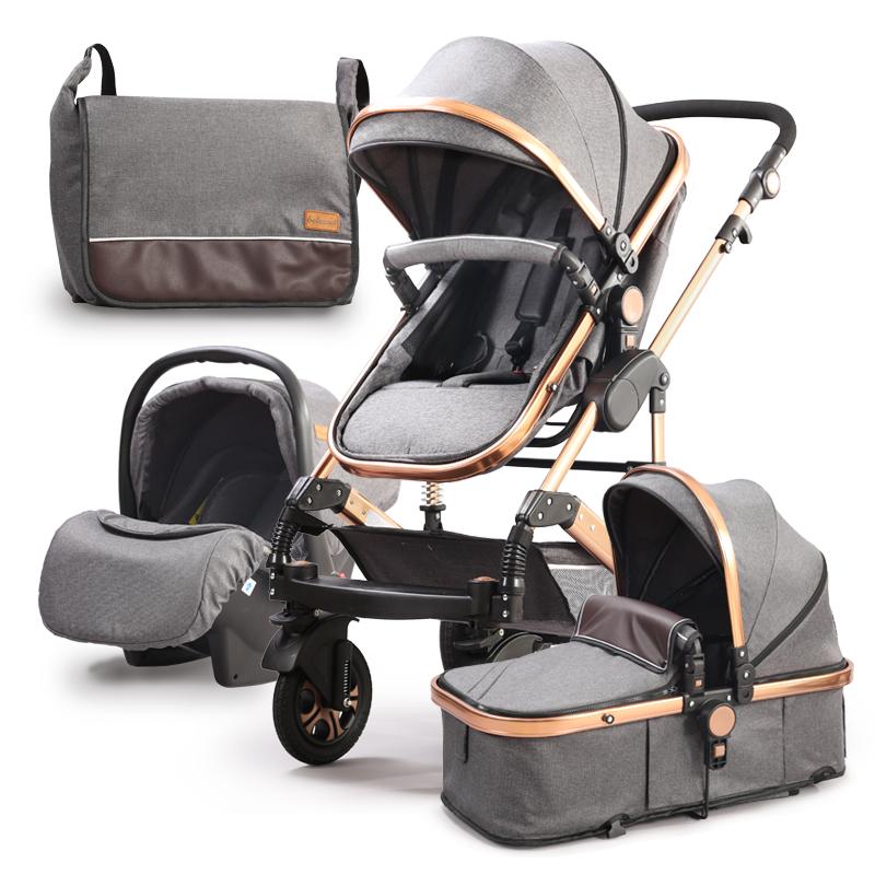 Wózek dziecięcy głęboki spacerówka 3w1