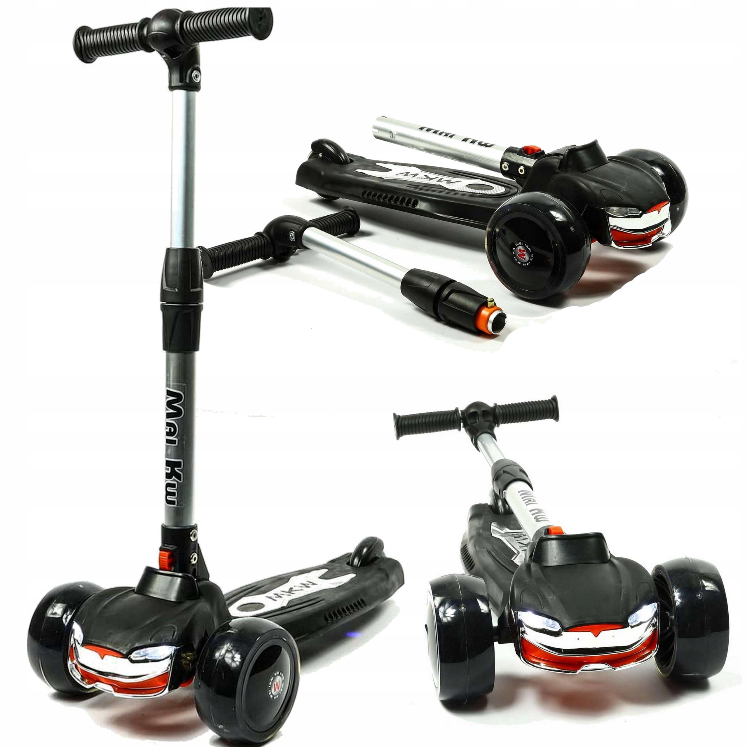 Трехколесный балансный скутер LED колеса 60 кг HAMU