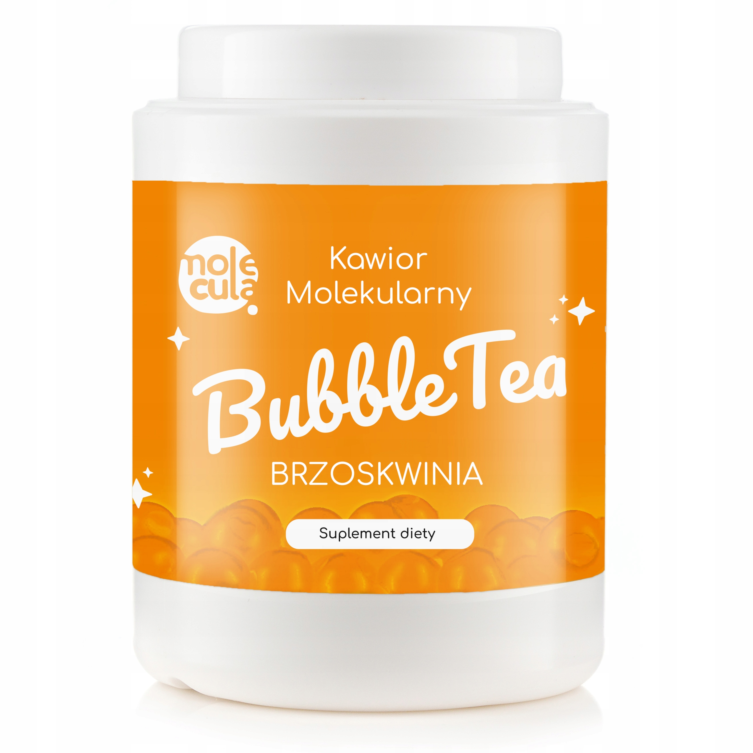 Чайные шарики Bubble Tea Balls Molecular Caviar 2KG PEACH