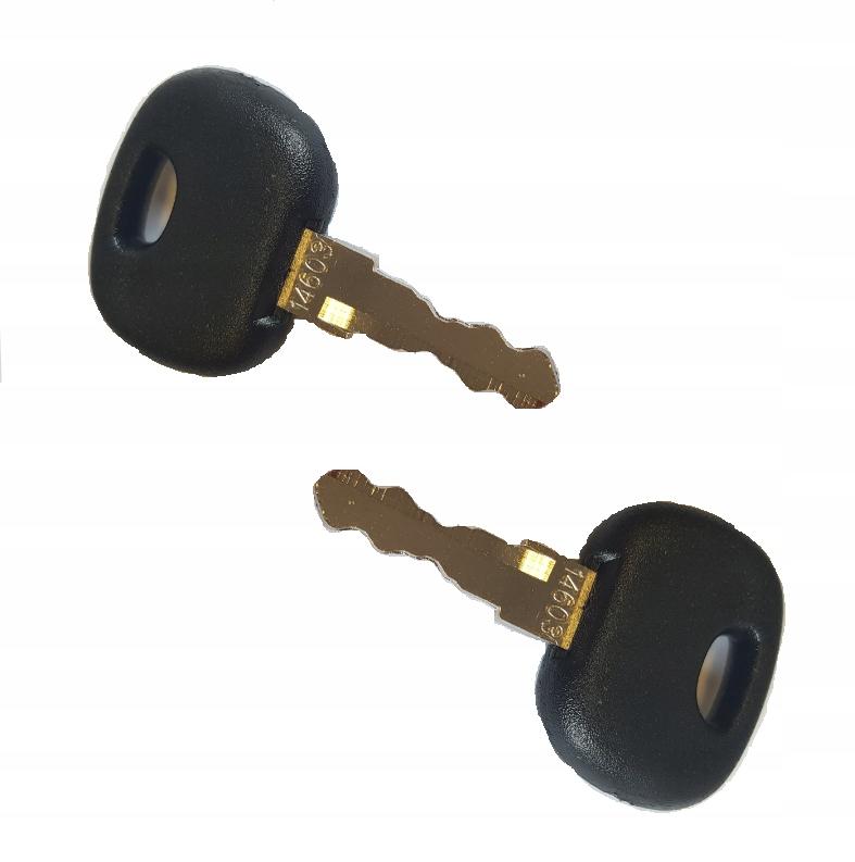 Набор ключей для замка зажигания LINDE из 2 шт. Высокого качества