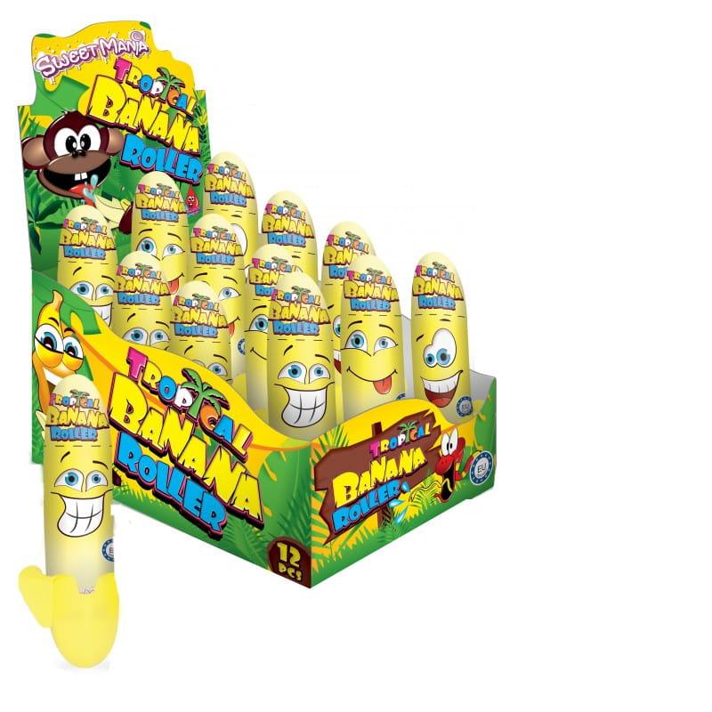 Роликовый напиток Tropical Banana 12 шт x 40 мл