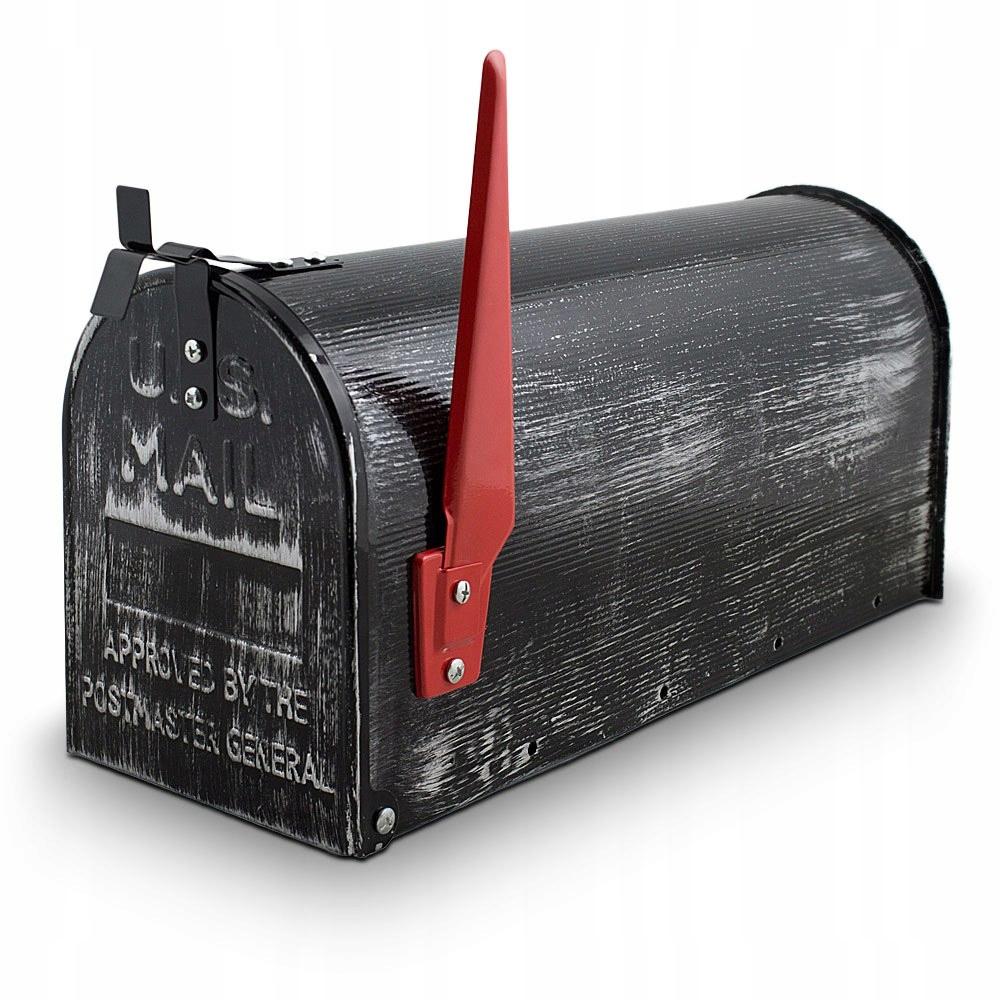 Retro poštová schránka v americkom štýle