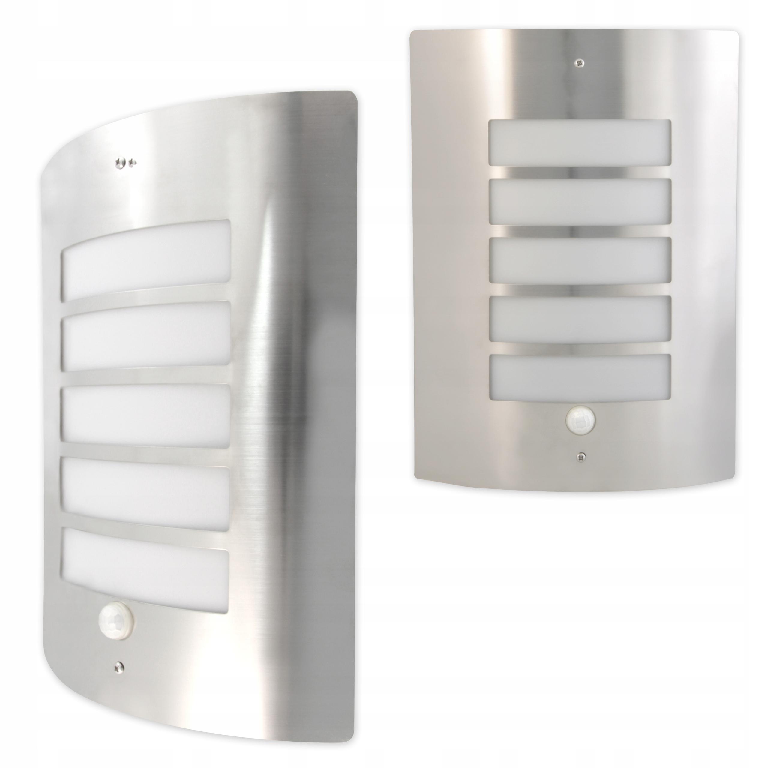Lampa kinkiet ogrodowy z czujnikiem zewnętrzna LED