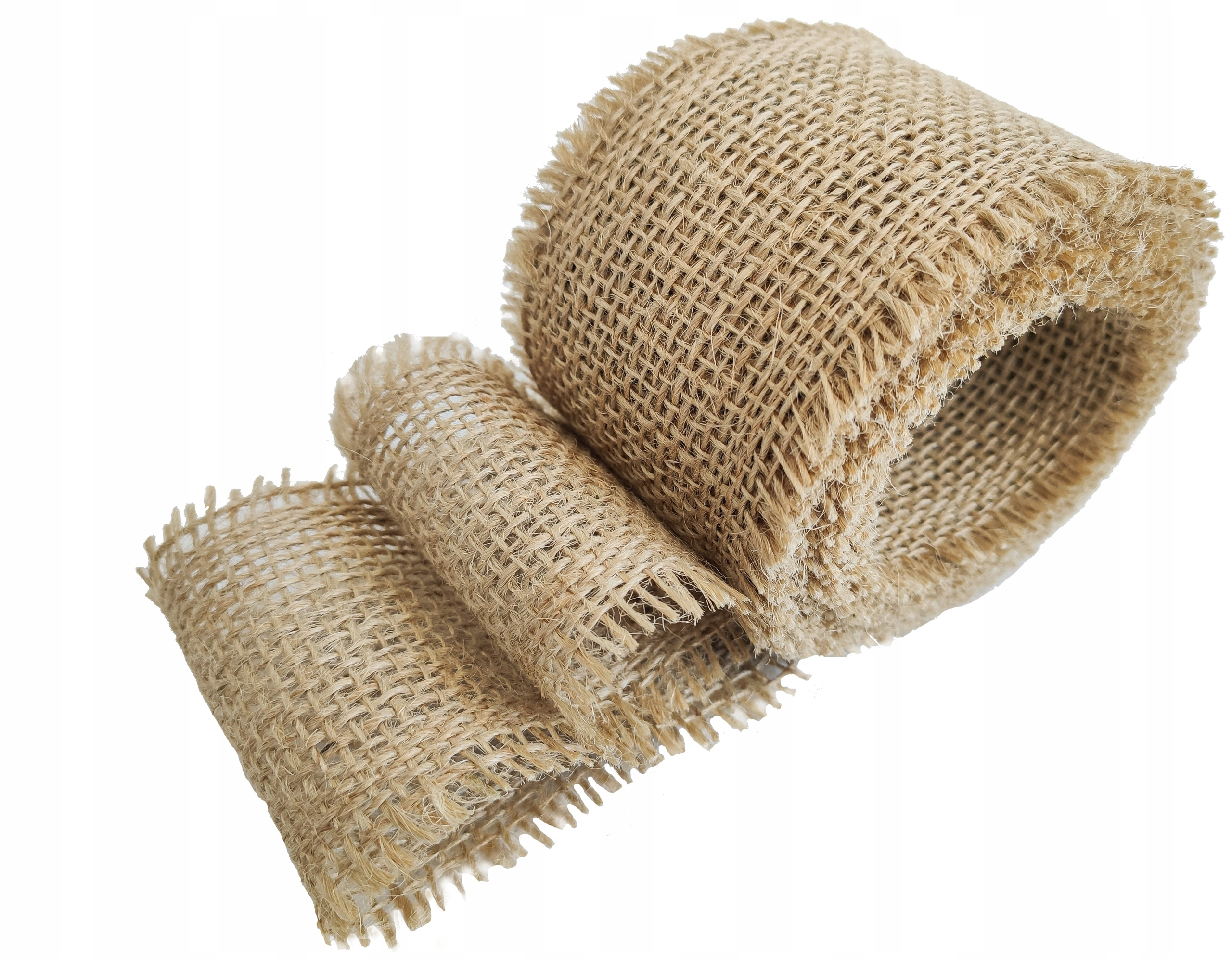 Juta naturalna - tkanina jutowa 5cm szerokości