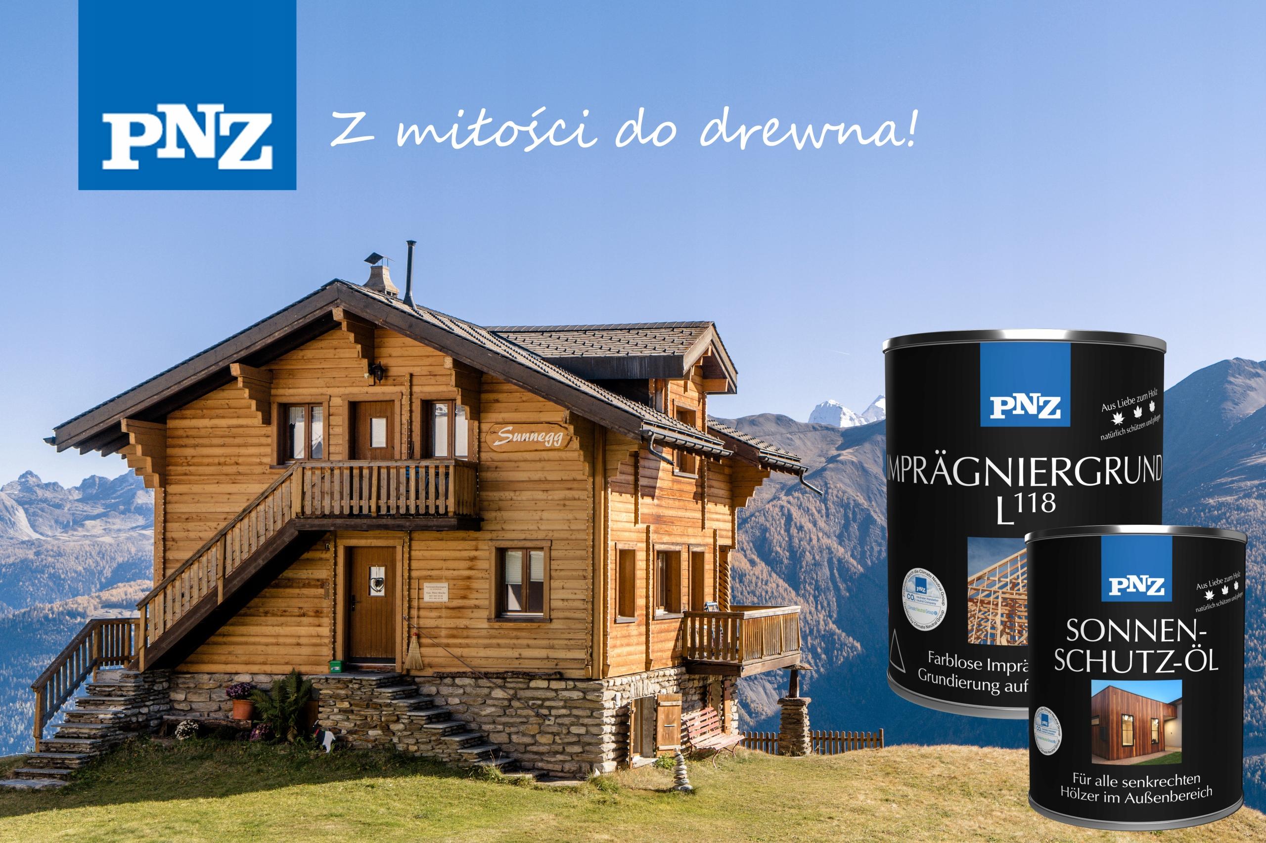 PNZ Lazura Olejna do drewna 2,5L Heban Pojemność 2.5 l