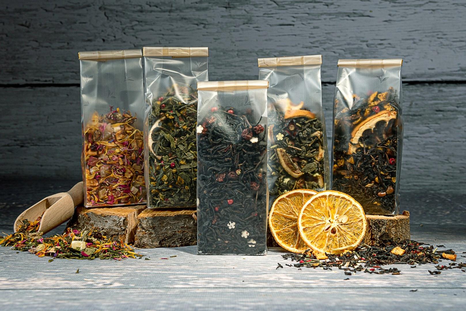 ZESTAW herbat na idealny PREZENT piękne torebki Okazja Dzień Babci