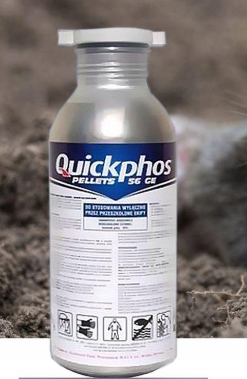 Гранулы Quickphos 56GE для измерения кротовых личинок