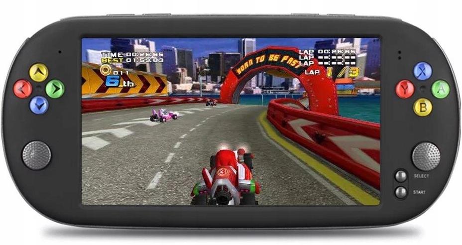 Портативная игровая консоль X16 для сказок 7-дюймовый HD-экран