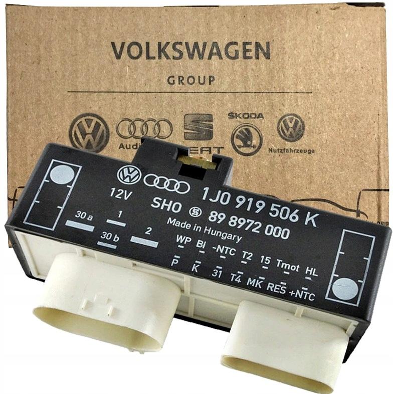 драйвер модуль вентиляторов vw 1j0 919 506 k  q
