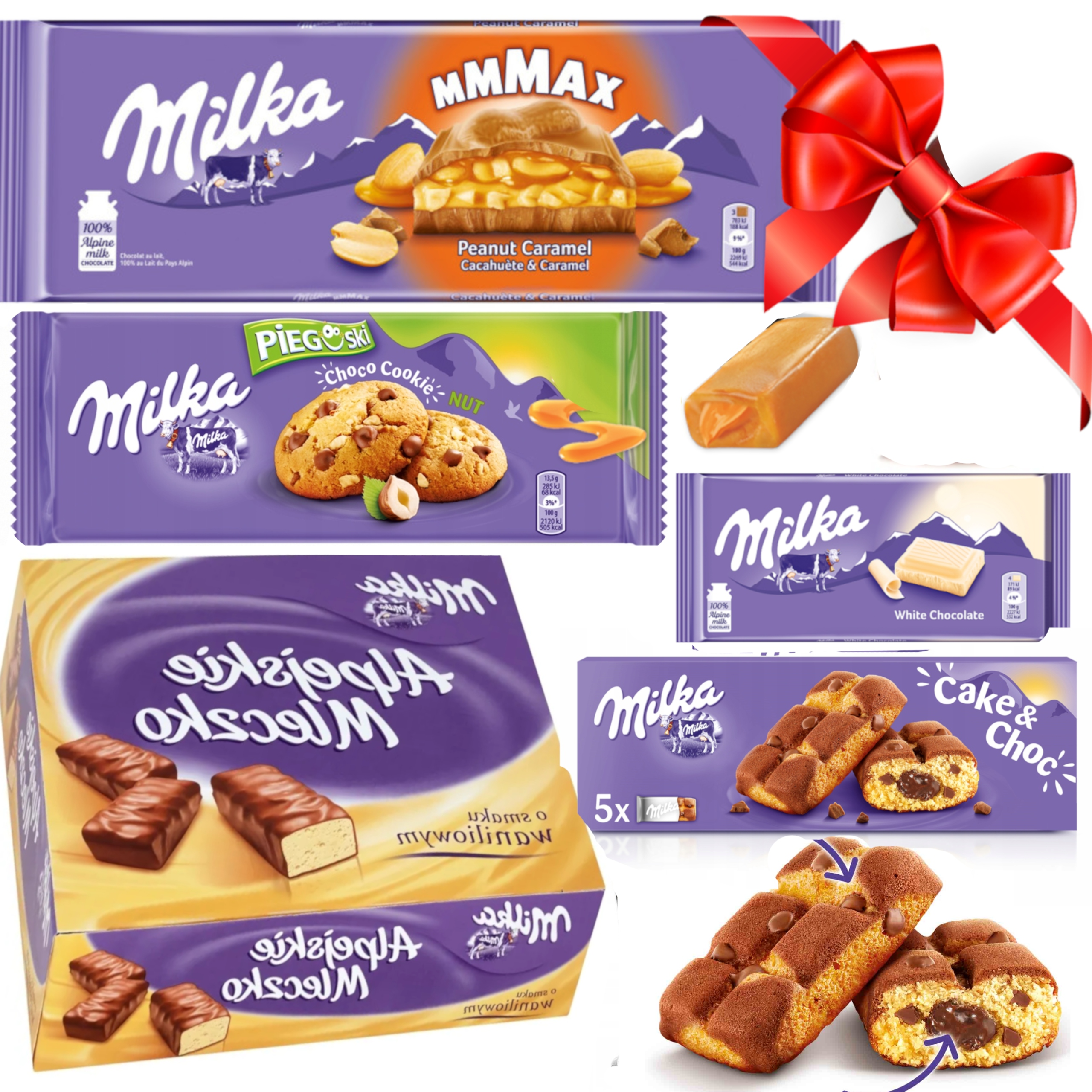 Набор конфет Milka. Подарочный шоколад ПОСВЯЩЕНИЕ
