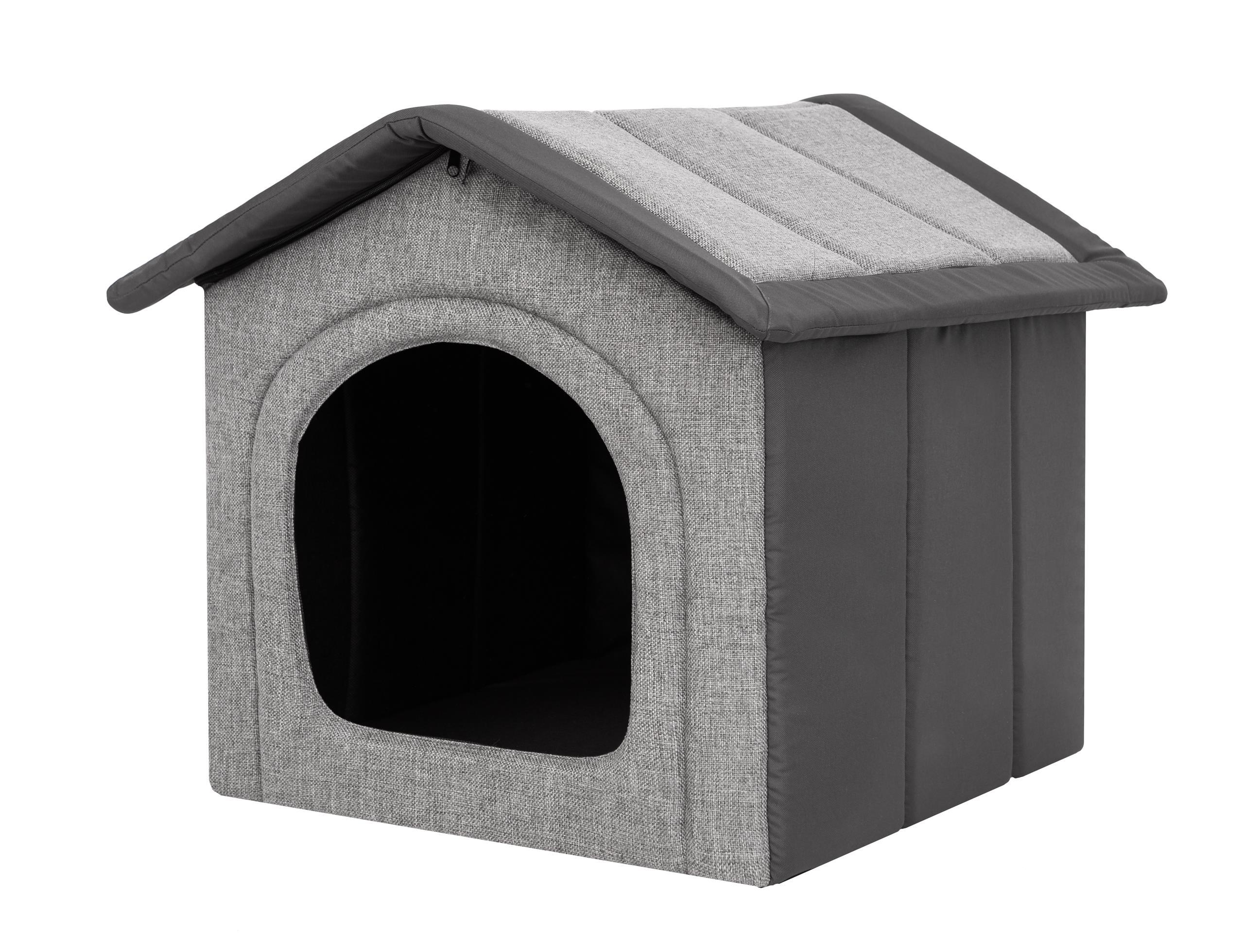 Buda, domek dla psa z materiału -R1-38x32 HOBBYDOG