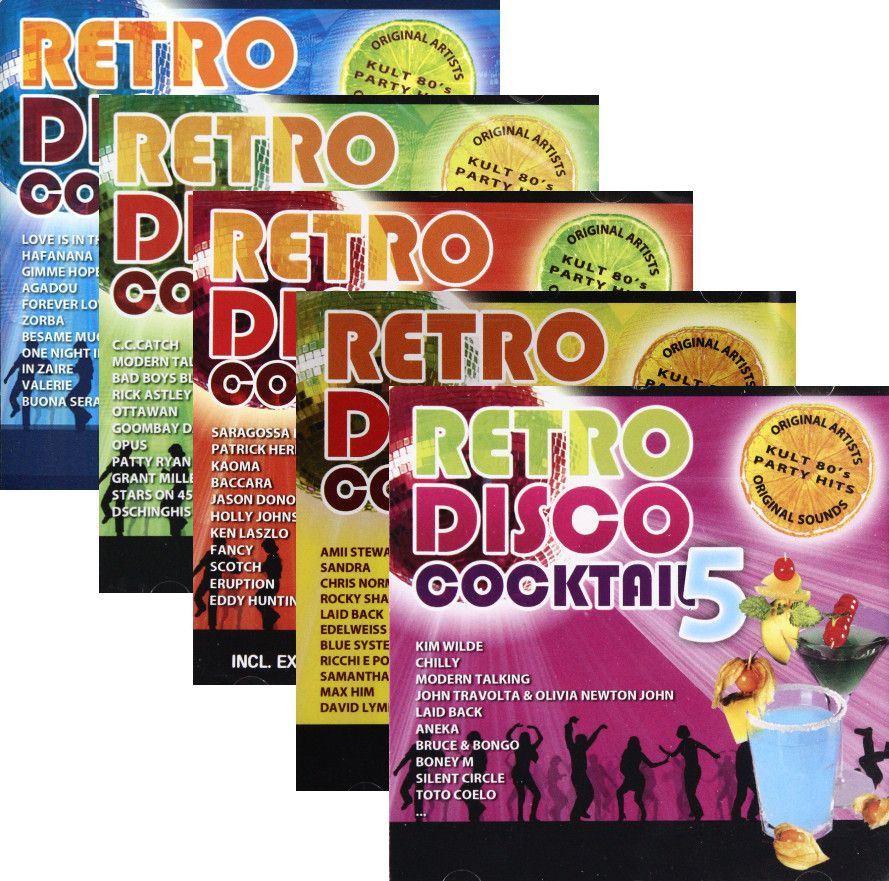 RETRO DISCO KOKTAIL 1 - 5 BALENÍ (6 CD)