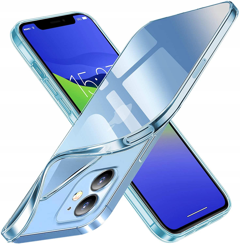 Etui do iPhone 12 / 12 Pro Clear Case + Szkło 9H